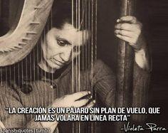 Violeta Parra #frases