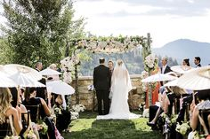 Real Weddings: Glamour on the Mountain at The St. Regis | Utah Bride and Groom