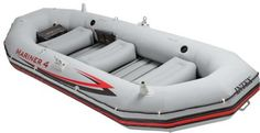 Intex Mariner 4 Inflatable Raft River Lake Dinghy Boat & Oars Set New Best Inflatable Boat, Inflatable Kayak, Dinghy Boat, Pontoon Boat, Kayaks, Fishing Boots, Fishing Rod, Fishing Tips, Best Fishing