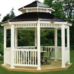 Walmart sells gazebos?  Who knew...