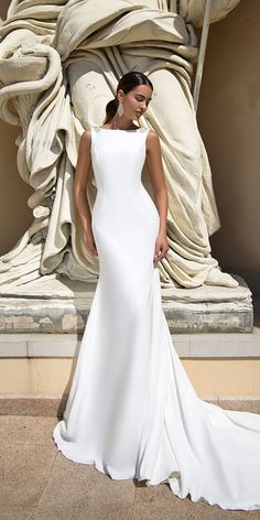 Tina Valerdi Wedding Dresses 2017 Collection ❤ See more: http://www.weddingforward.com/tina-valerdi-wedding-dresses/ #weddings