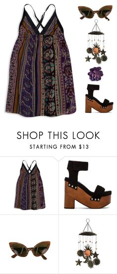 """""""Take Me Home"""" by lbenigni ❤ liked on Polyvore featuring Forever 21, Jeffrey Campbell, Oleg Cassini and Pier 1 Imports"""