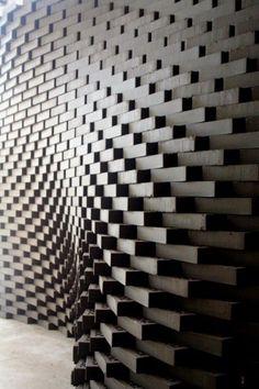 parametric brick wall: