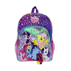 Fashion Accessory Bazaar 1001771 My Little Pony Backpack - 3D