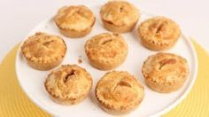 Mini Apple Pies Recipe - Laura in the Kitchen - Internet Cooking Show Starring Laura Vitale