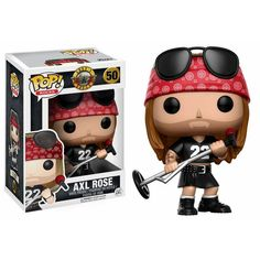 Axl Rose from Guns n Roses Brought to you by Pop In A Box, the site Funko Pop! Vinyl shop