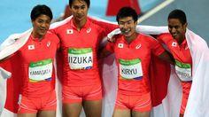 【リオ2016】瀬戸大也&坂井聖人&寺本明日香も歓喜!…陸上男子400mリレーで銀メダル!