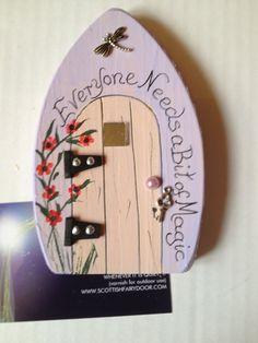 Everyone needs a bit of magic fairy door by ScottishFairyDoors