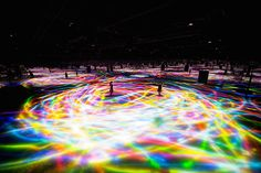 Immersive Digital Art Installation in Tokyo by Teamlab – Fubiz Media