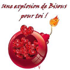 gif bisous d'amour | Explosion De Bisous Pour Mes Ami(es) Du Net ,Allée Voir Le Blog De ...