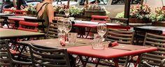 Our outside table I tavoli esterni