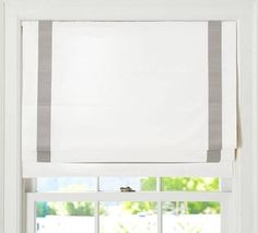 roman blinds white gray - Google Search