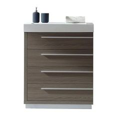 Virtu USA Bailey 30-inch Polymarble Single Bathroom Vanity Partset | Overstock.com Shopping - The Best Deals on Bathroom Vanities