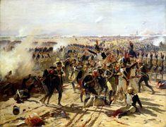 La Batalla de Aspern-Essling. Fernand Cormon