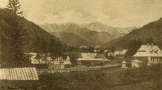 Tatry. Dolina Kuźnic z Bystrego - Górale i Tatry na starych fotografiach