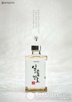 """Premium soju """"Ilpoom Soju"""""""