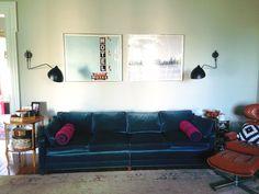 Some Living Room Updates - Little Green Notebook