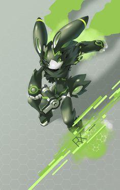 SYNC: Verdaz the Robot Rabbit by TysonTan.deviantart.com on @DeviantArt