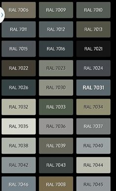 Our garage door is RAL 7038