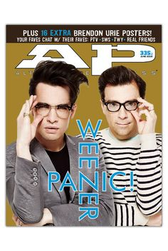 AP 335.1 // June 2016 // Panic! at the Disco and Weezer