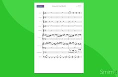 Around the World (Daft Punk) - Partitura gratis per orchestra di Scuola Media ad Indirizzo Musicale  - Free Sheet Music