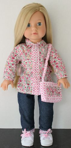 Pinned for inspiration. Sweet details! MY DOLL BEST FRIEND