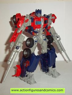 transformers movie OPTIMUS PRIME 2007 hasbro toys voyager complete action figures