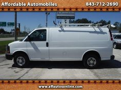 Used 2011 Chevrolet Express 2500 Cargo for Sale in Myrtle Beach SC 29577…