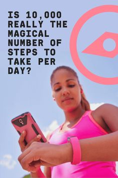 """Chances are, you've been told you should log steps per day on your fitness tracker. But a new study challenged that """"magical"""" number with surprising results. Fitness Tracker, You Fitness, Health Fitness, 10000 Steps, Steps Per Day, How To Slim Down, Log 10, Told You So, Challenges"""