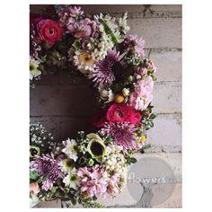 Floral wreath www.flowersbyrhi.com.au