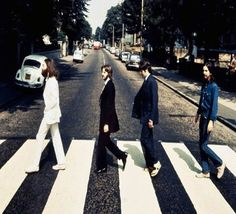 Backwards Beatles Abbey Road photo up for auction