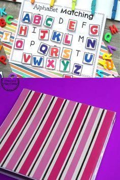 Preschool Activities Busy Binder