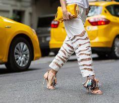 NYFW street style day 5 via @WhoWhatWear   Sept 2014