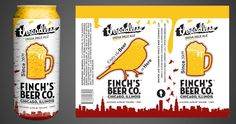 Label Templates Beer Brands Can Design Brewing Logos Canning Thesis Tag