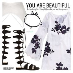 """""""You Are Beautiful"""" by black-fashion83 ❤ liked on Polyvore featuring Schutz, Hedi Slimane, DANNIJO, polyvoreeditorial, polyvoreset and stylemoi"""