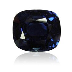 6.01 ct, Sapphire, Antique Cushion, Blue. Intense. No Heat. We supply certificated sapphire stones from Thailand, Burma, Sri Lanka, Mozambique. www.thegembank.com. Gemstone business from UK.