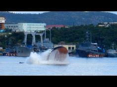 Русская подводя лодка Акула Russian summing boat Shark - YouTube