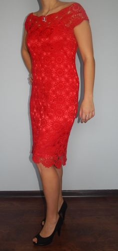 Red Fury dress by JoannaFashion.