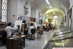 Lo Studio del Mosaico Vaticano, Basilica Papale - SAN PIETRO, Città del Vaticano