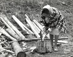 Emma Taylor: A master Cherokee basket weaver whose specialty was white oak baskets.  After learning how to make baskets in 1927, she produced them for more than half a century.  A day in the woods may yield three good trees