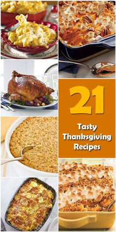 Learn about the origin and history of 21 Tasty Thanksgiving Recipes, or browse through a wide array of 21 Tasty Thanksgiving Recipes-themed crafts, decorations,