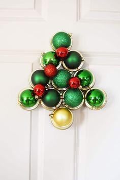 Mason Jar Crafts | Mason Jar Lid Wreath | Christmas Wreath Tutorial Using  Mason Jar Lids