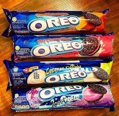 Weird Oreo Flavors, Pop Tart Flavors, Cookie Flavors, Oreos, Cute Food, Yummy Food, Food Hunter, Sleepover Food, Junk Food Snacks
