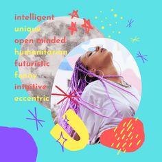 The Aquarius Moon Woman is Eccentric & Interesting | Basically Wonderful Moon In Aquarius Woman, Eccentric, Intuition, Feelings, Women, Woman