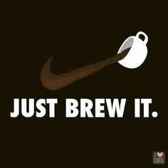 I love coffee and I love pretending to be fit so I thought this was an ideal logo for me.