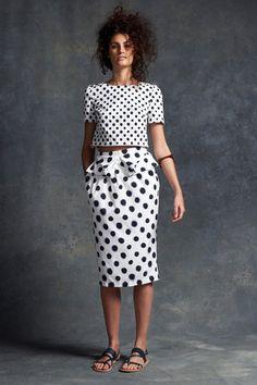 Saloni Resort 2015 Fashion Show Dots Fashion, Fashion Models, High Fashion, Fashion Show, Womens Fashion, Fashion Design, Fashion Trends, Dress To Impress, Ready To Wear