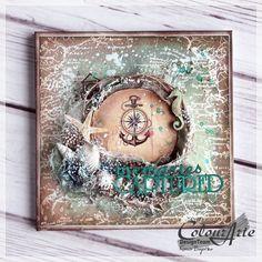 Nautical album cover - for ColourArte