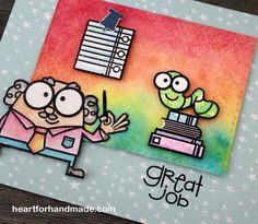 Great Job card by heartforhandmade - Cards and Paper Crafts at Splitcoaststampers