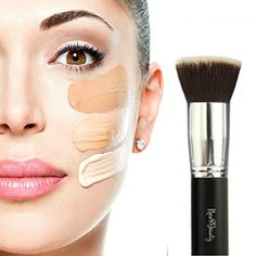 Foundation Brush Flat Top Kabuki - limited time $12   Amazon -- love this with liquid foundations/cc creams, & also powder foundations!