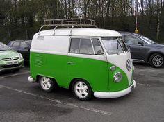Mini VW  van by ♔ Georgie R, via Flickr